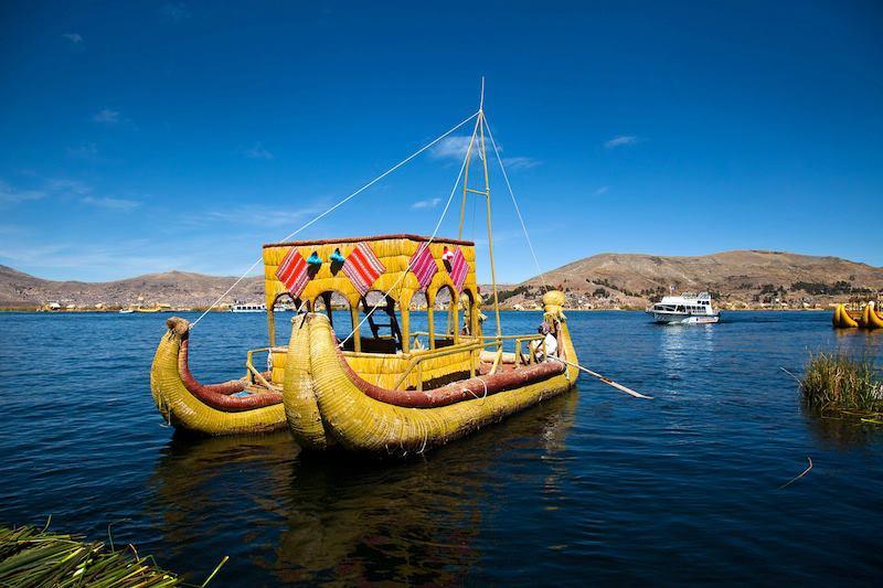 Titicaca Puno Perù
