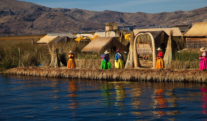 Titicaca Puno Peru South America