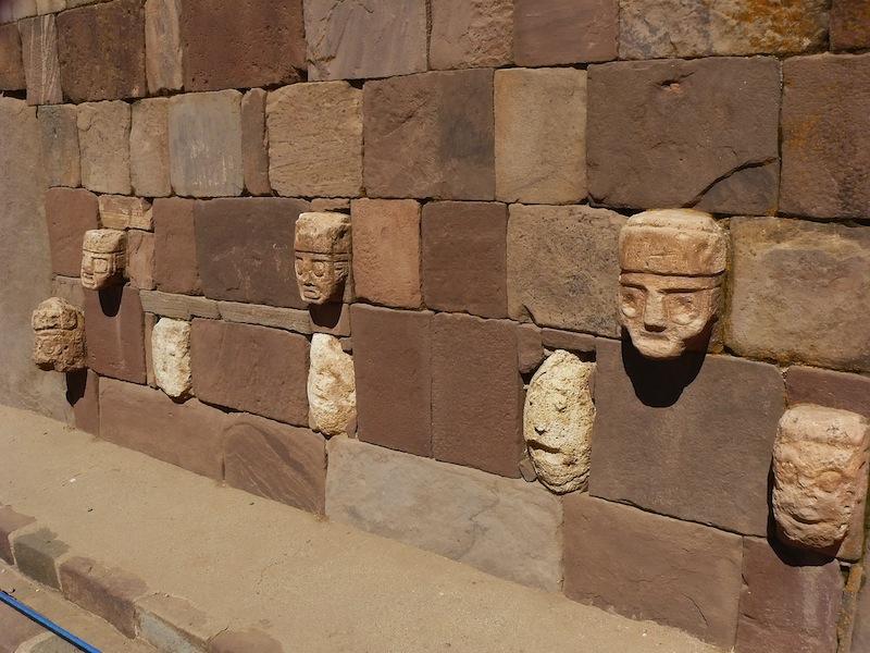 Tiwanaku ancient city in Bolivia 72 km from La Paz n