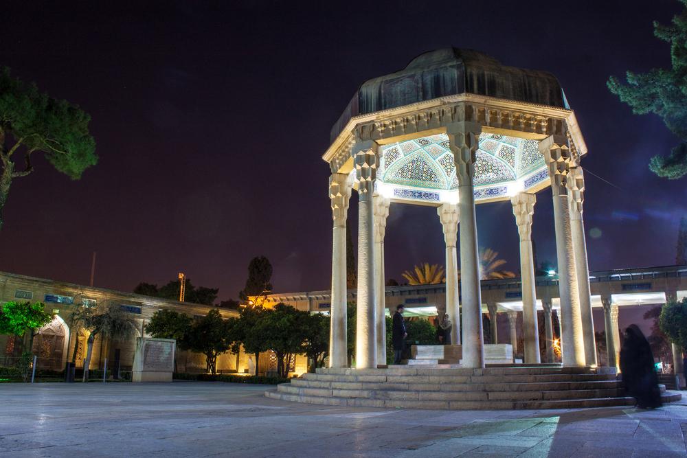 Tomb of poet Hafez in Shiraz Iran