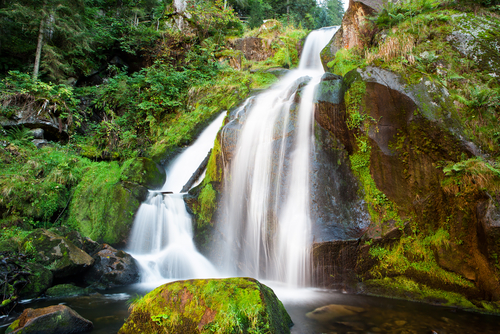 Triberg Falls is one of the highest waterfalls in Germany