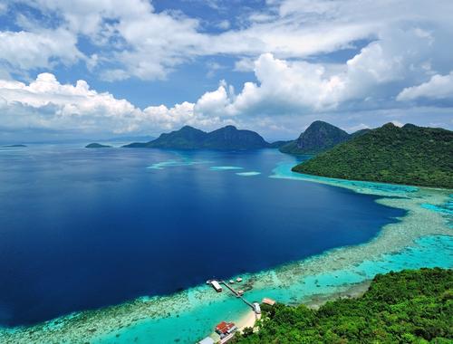 Tun Sakaran Marine Park Semporna Sabah Malaysia