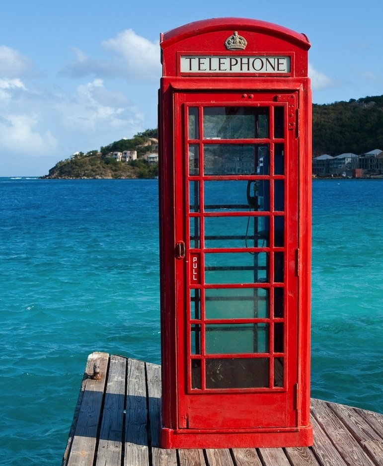 US Virgin Islands in the Caribbean