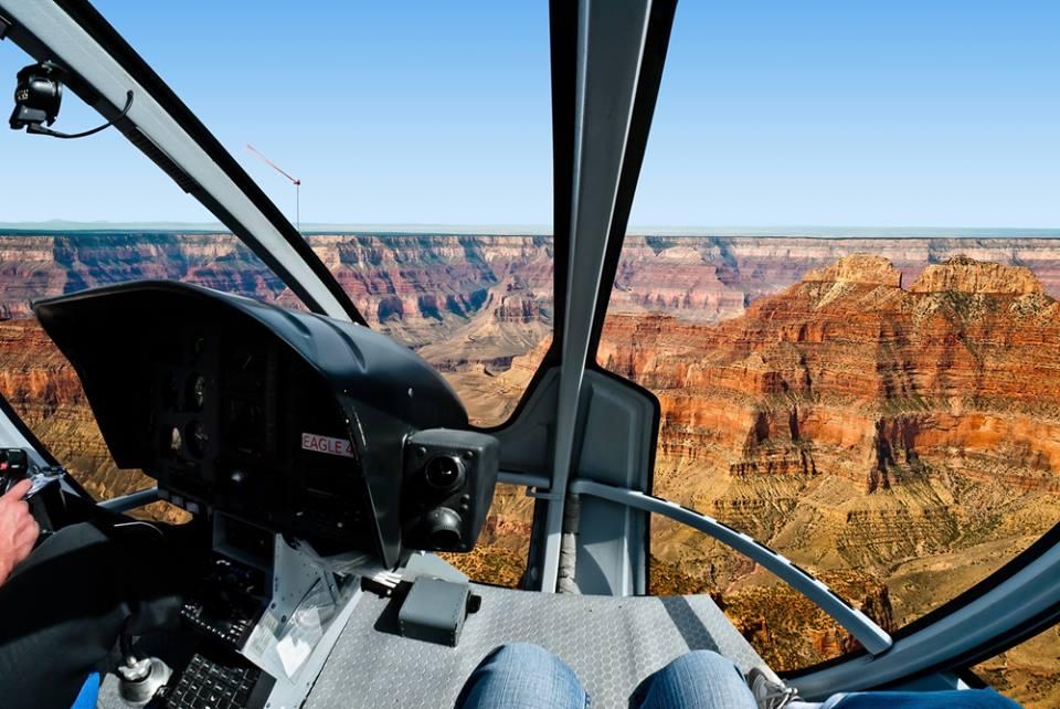 Un giro in elicottero Grand Canyon
