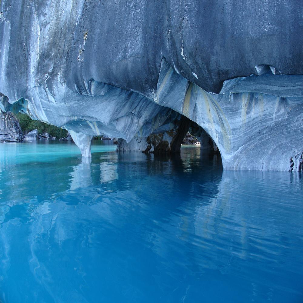 Unique marble caves