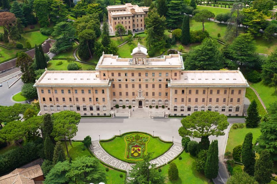 Vaticano garden Roma