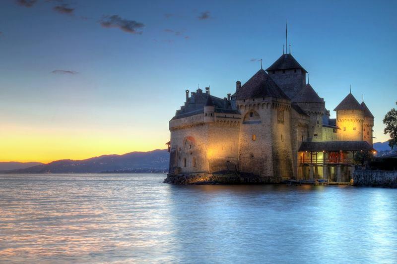 Veytaux Svizzera Chateau de Chillon
