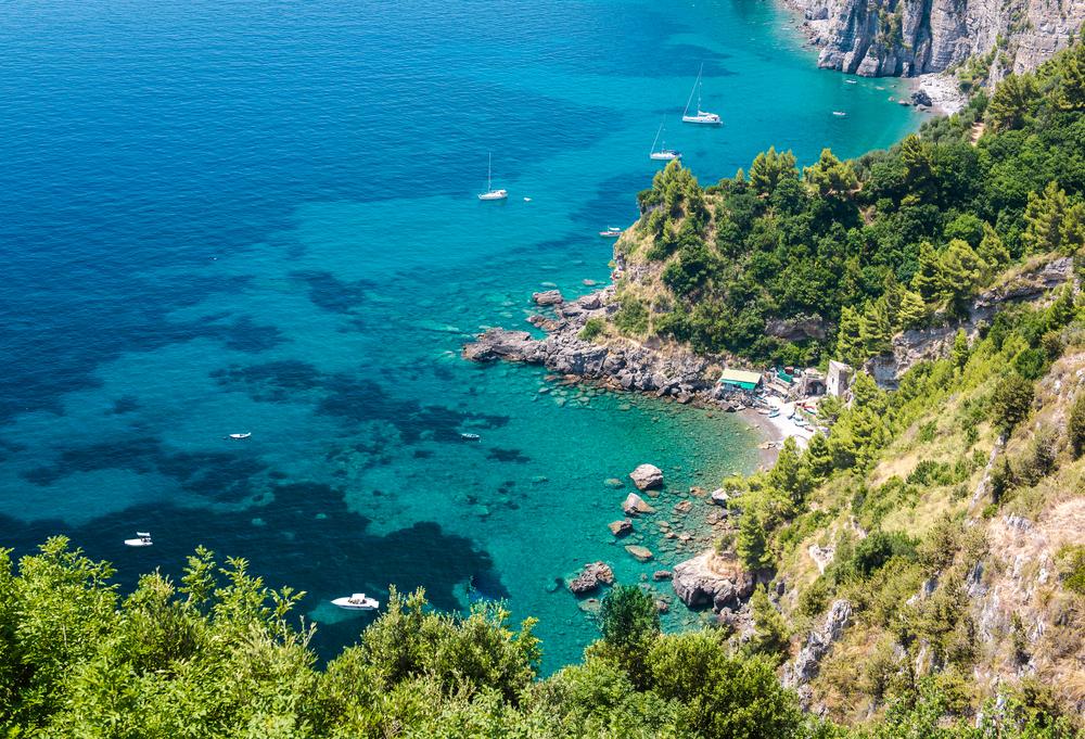 Via Nastro Azzurro Amalfi Coast