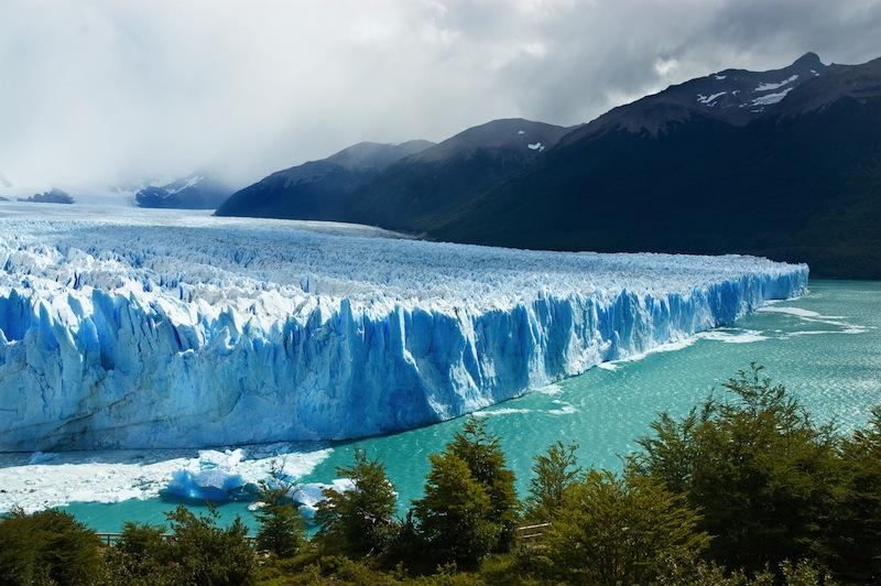 View of the magnificent Perito Moreno glacier patagonia Argentina