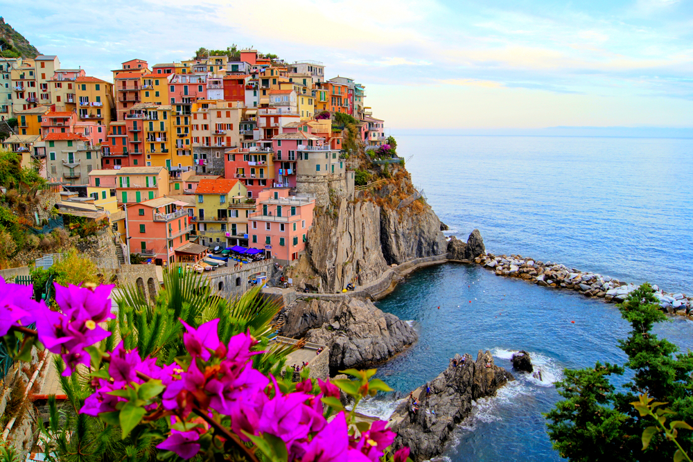 Village of Manarola on the Cinque Terre