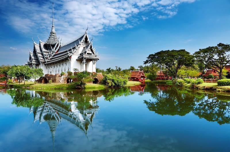 Wat Phra Si Sampet Palace Bangkok