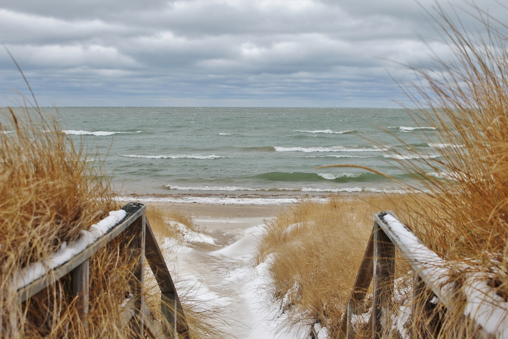 Winter Day at the Beach