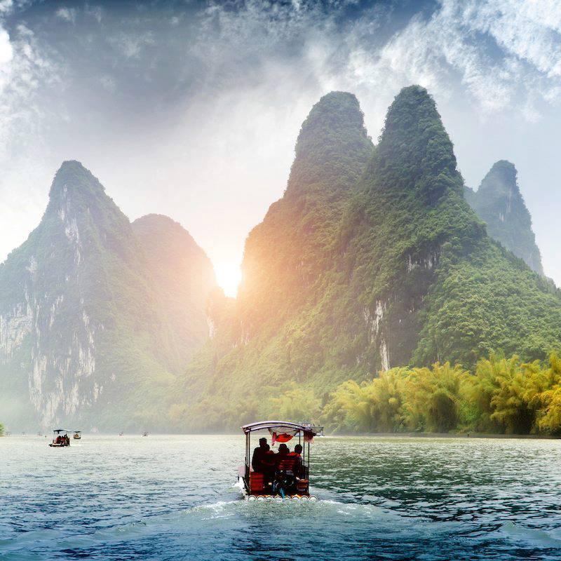 Yangshuo Guilin Quansi China