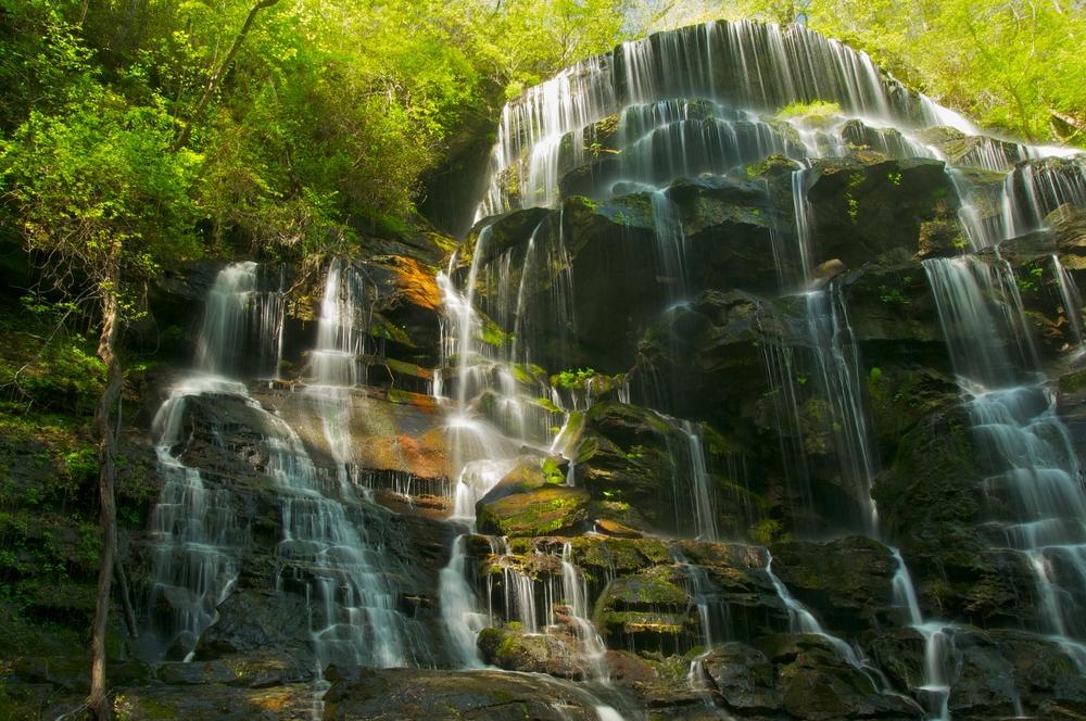 Yellow Branch Falls in South Carolina
