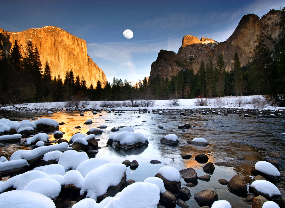 Yosemite in winter 3