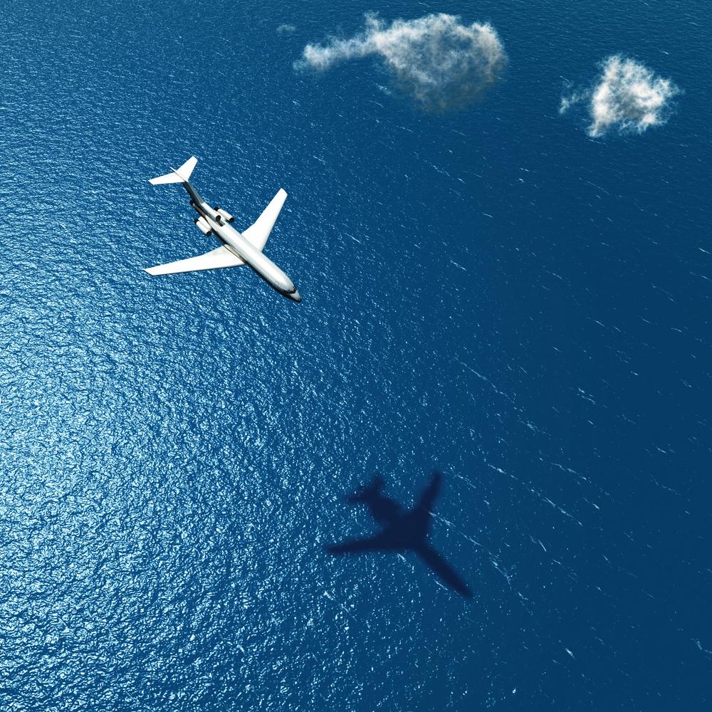 aereo mare
