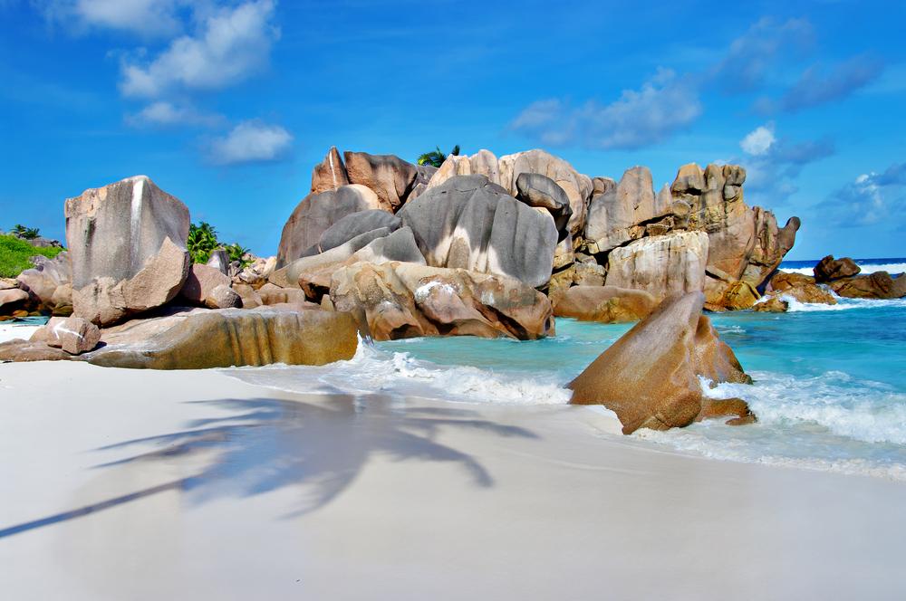 amazing Seychelles with unique granite rocks