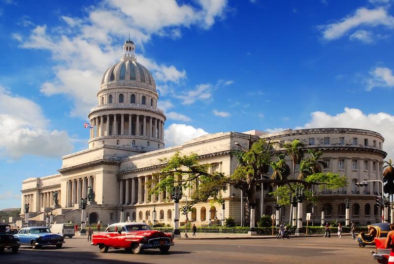 apitolio building Havana Cuba with