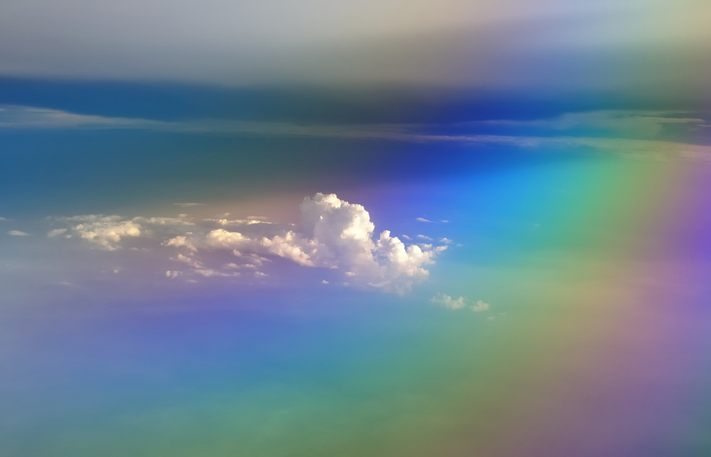 arcobaleno nuvole