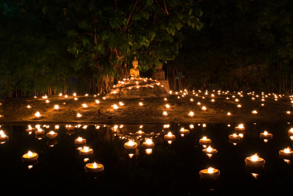 bali buddha candele