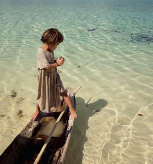 bambin barca capo verde