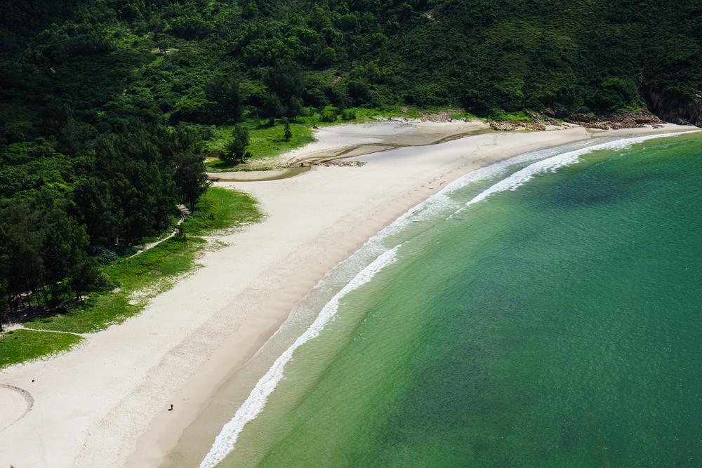 beach in Sai Kung hong kong