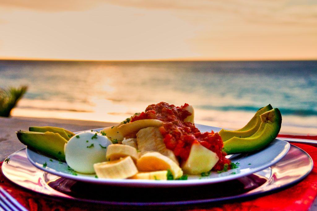 bermuda breakfast in the sun