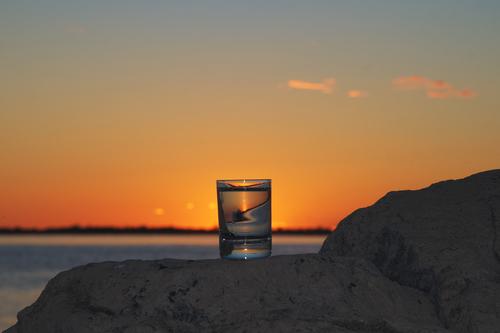 bicchiere mare