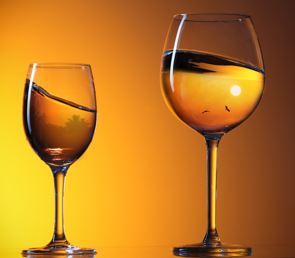 bicchieri tramonto grande