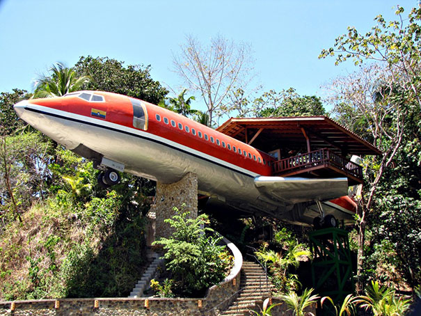 boeing 727 house hotel costa rica Joanne Ussary 1