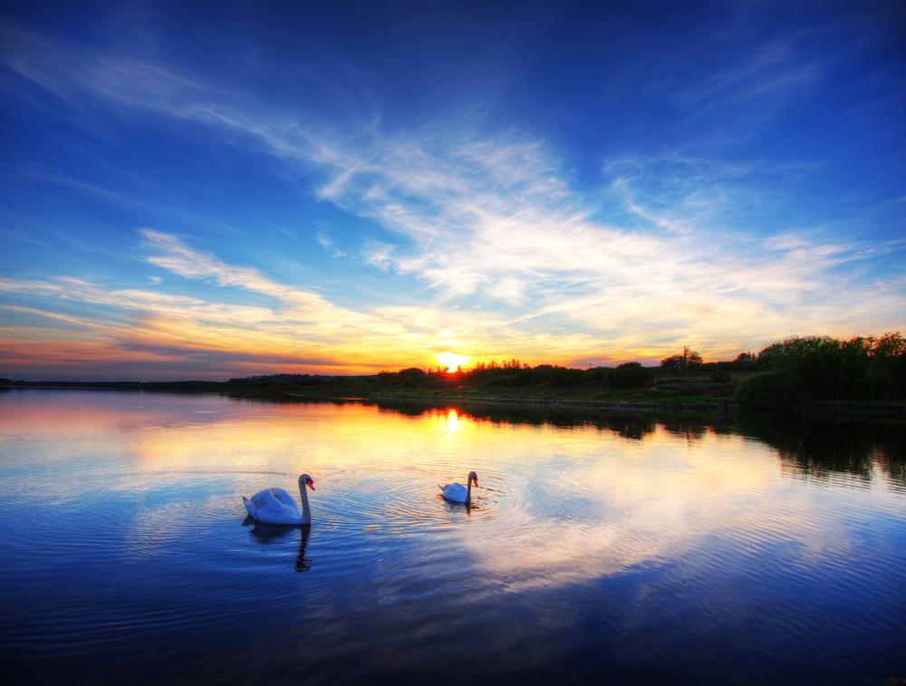 calm lake Ireland