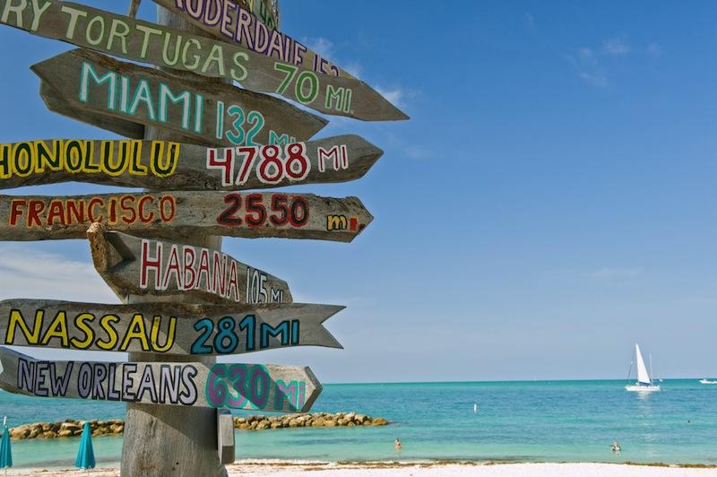 cartello maiami beach