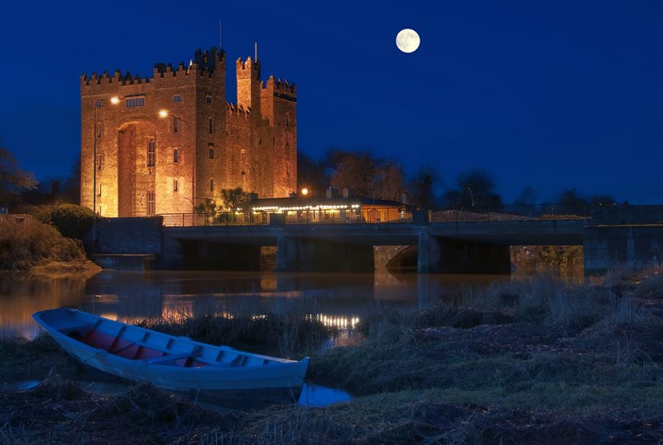 castello irlanda luna