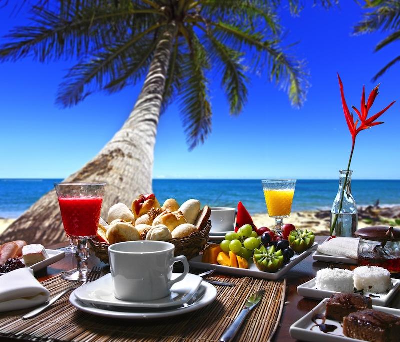 colazione alle Maldivwe