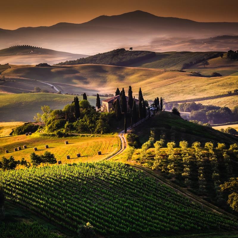 colline dorcia toscana