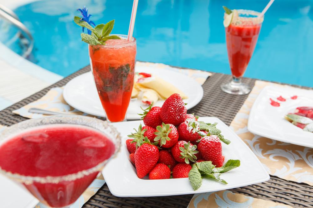corsica cibo piscina