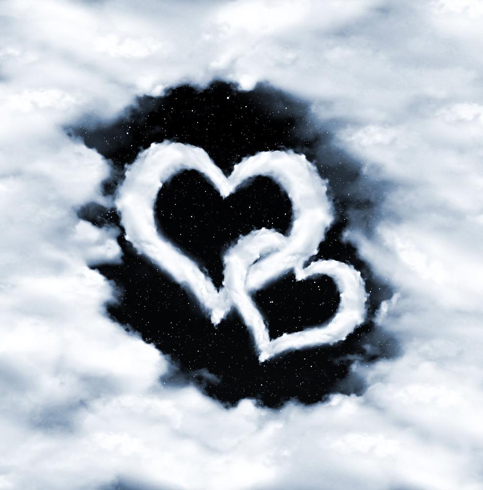 cuori nuvole