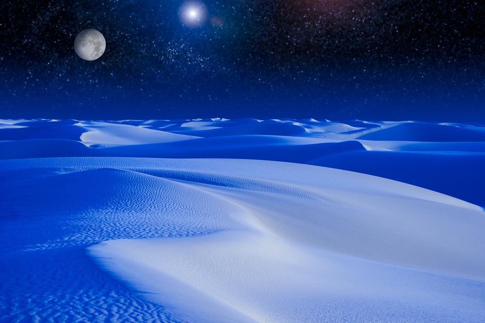 deserto bianco luna