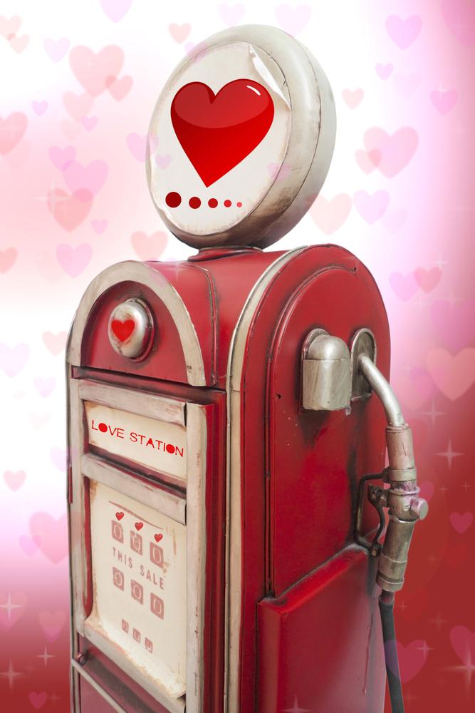 distributore cuore san valentino