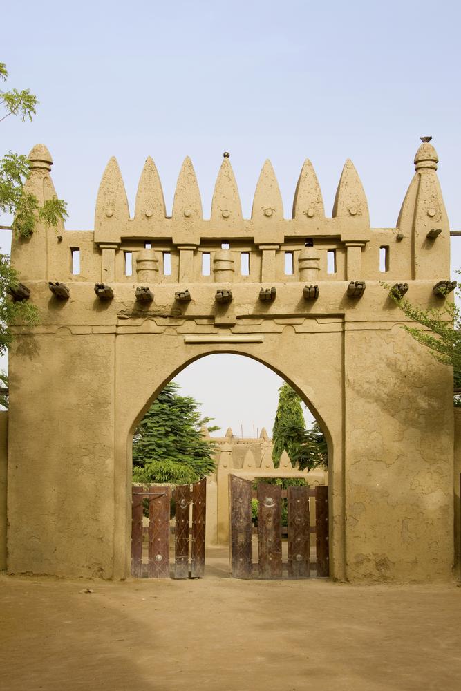 door in Djenne etiopi