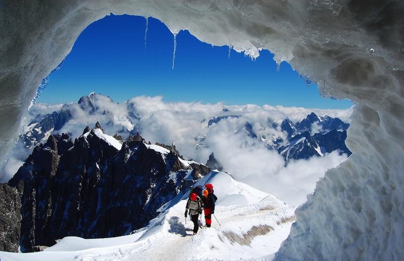er Mont Blanc Massif French Alps