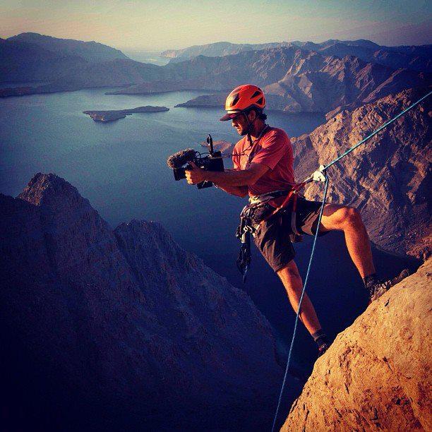 fotografo roccia