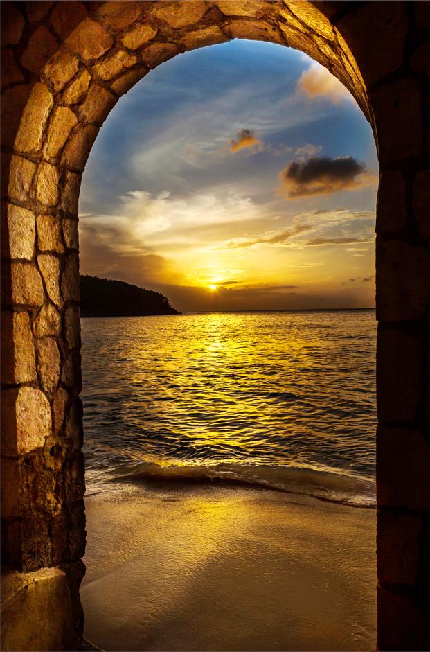 giamaica tramonto