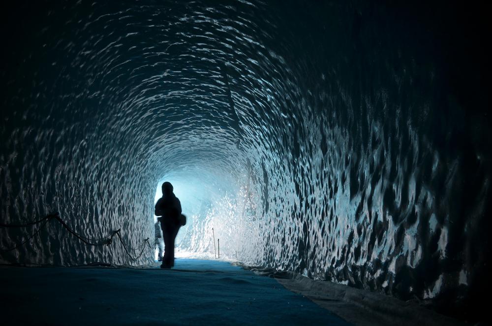 glacier in Chamonix France