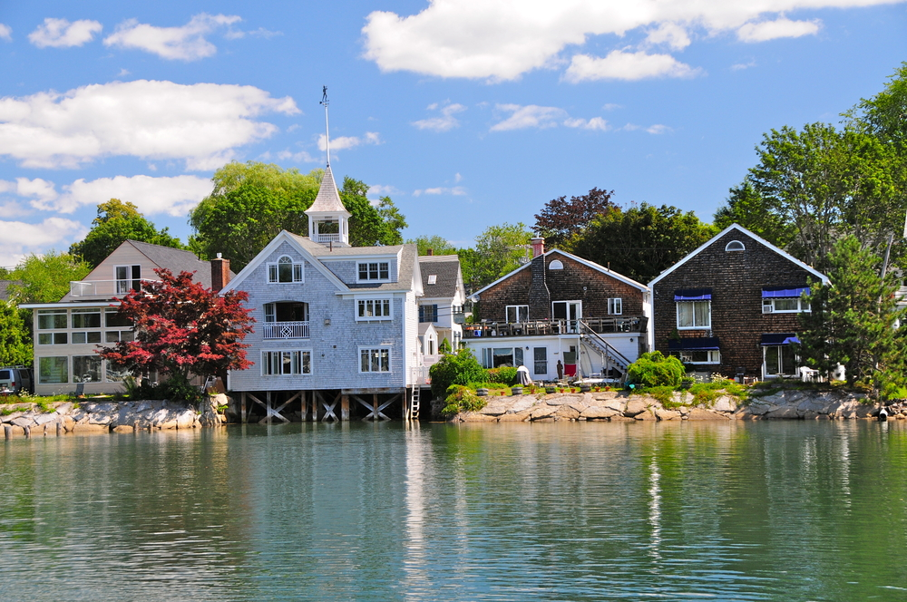 houses in Kennebunkport Maine USA
