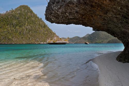 island in Wayag Raja Ampat Indonesia