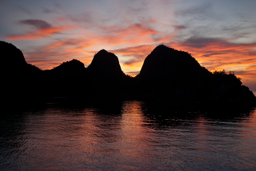 islands in Wayag Raja Ampat Indonesia