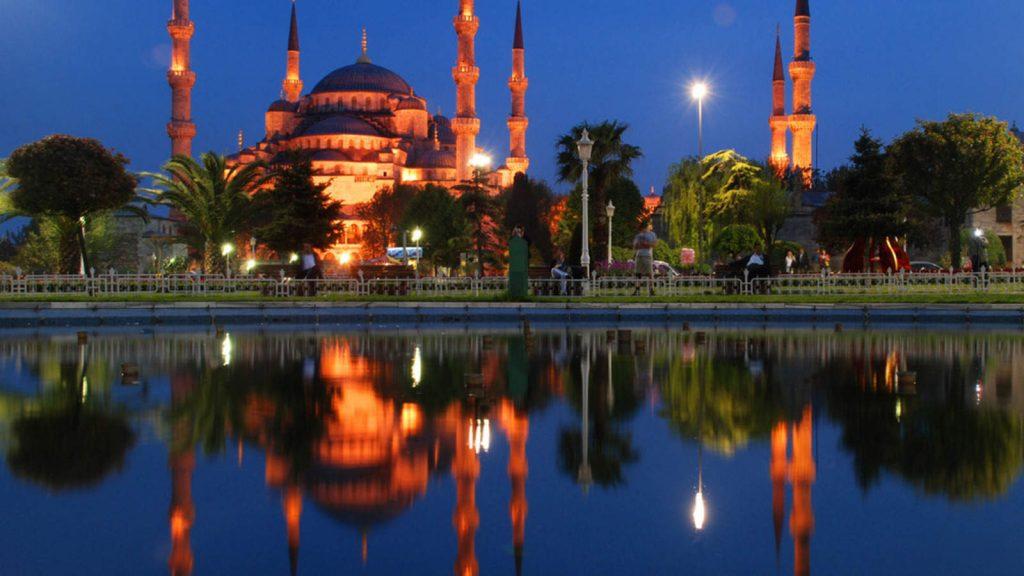 istanbul moschea blu night 21577215