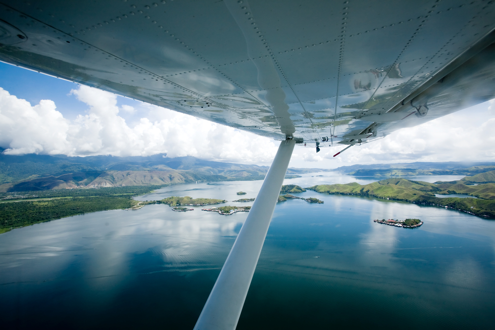lake Sentani Papua Indonesia