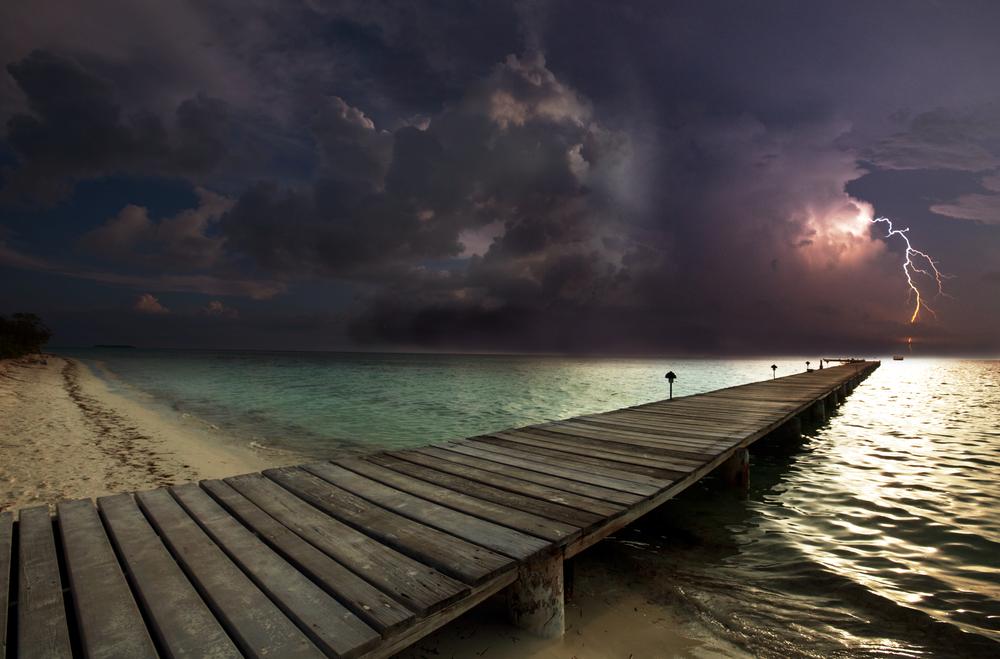 lampi spiaggia nuova caledonia